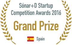 Sónar+D Startup Competition Awards 2016 :Grand Prize