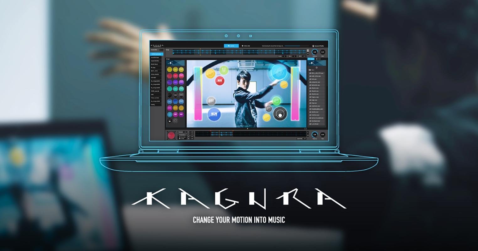 KAGURA - CHANGE YOUR MOTION INTO MUSIC